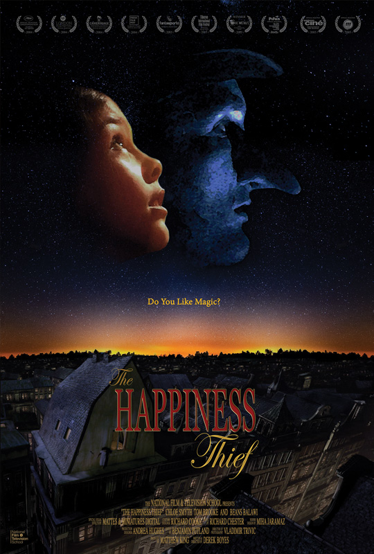 The Happiness Thief poster